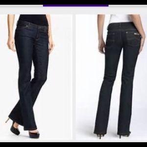 Michael Kors Super Dark Wash Bootcut Jeans Size 8